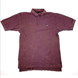 Nike Golf Embroidered Polo Mens size Large maroon